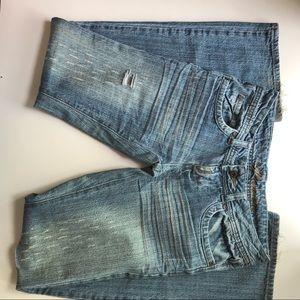 Premiere Rue 21 distressed denim jeans